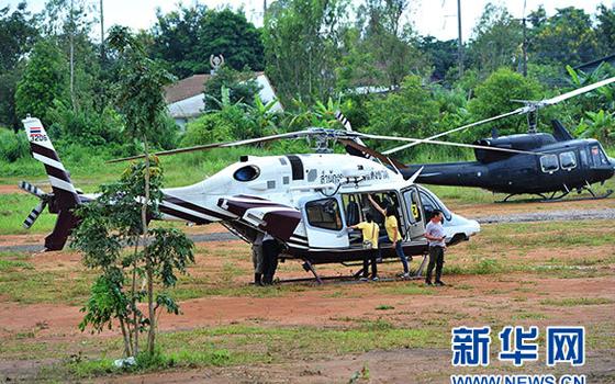 援救泰国被困足球队员