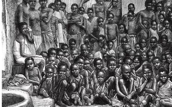 黑人奴隶时期