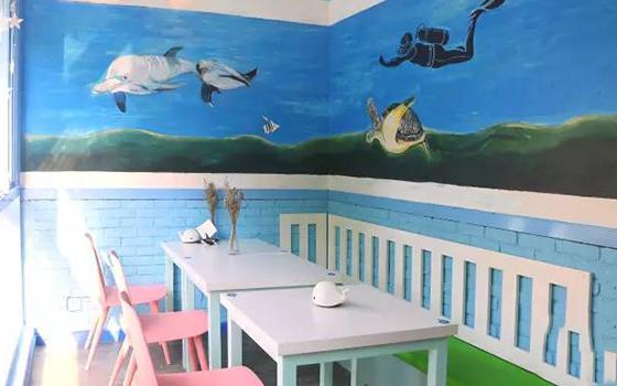 海洋世界主题餐厅