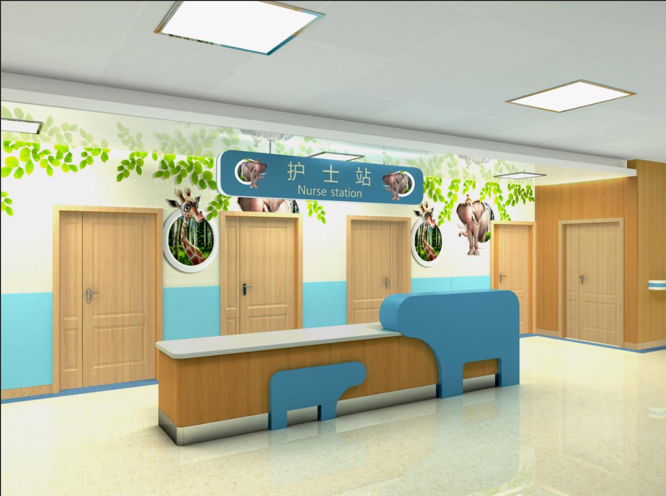 博生家具.儿科护士站