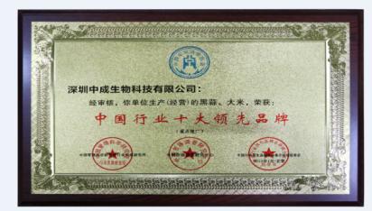 润则生荣获中国行业十大领先品牌