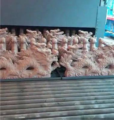 屹然.辊道窑烧制大型仿古配件