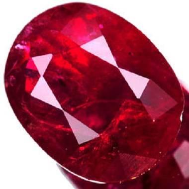 博华文化.天然红宝石