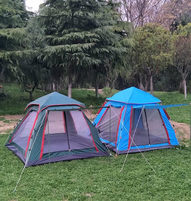 快乐游.全自动帐篷