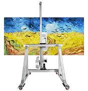 SONPOO松普.三角轨智能墙体彩绘机