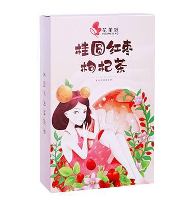 花美妖.桂圆红枣枸杞茶