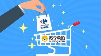 苏宁拟出资48亿元收购家乐福中国80%股份